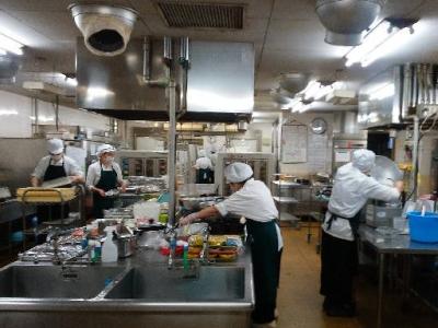 港区新橋の企業内厨房の求人画像