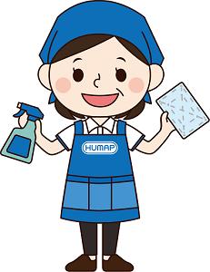 ヒュウマップクリーンサービス ダイナム山口店の求人画像