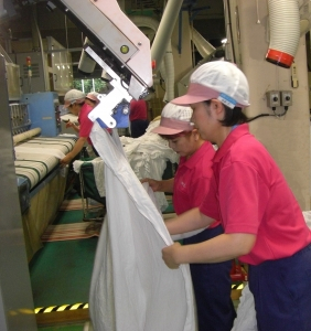 共同リネンサプライ株式会社 茨城工場の求人画像